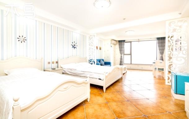 金梦海湾8号民宿公寓家庭房