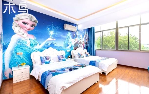 【馨颐】免费迪士尼乐园接送--冰雪奇缘双床房【近浦东机场/上海野生动物园】