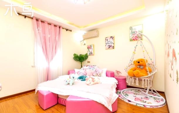 【馨颐】免费迪士尼乐园接送-- 温馨网红大圆床/近浦东机场/上海野生动物园