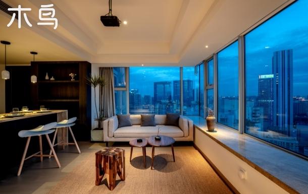 恩善轻奢 280度 顶楼 大平层 太古里顶楼 270度景观套房