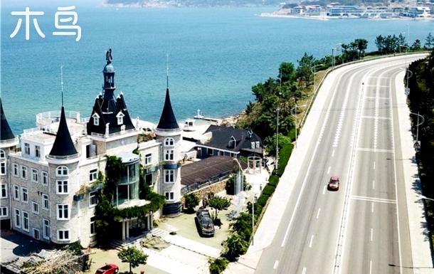 海边城堡海景露台独栋别墅整租
